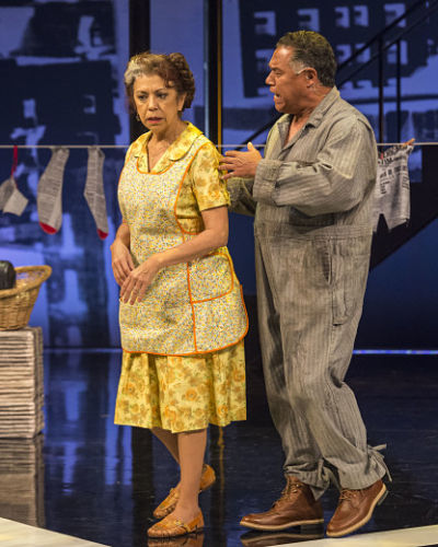 "Rose Portillo in ""Zoot Suit"" at Center Theatre Group. (Photo by Craig Schwartz)"